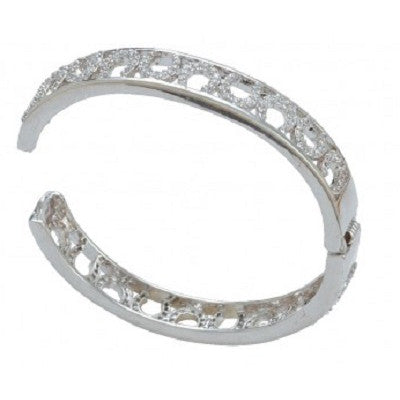 MONTANA BANGLE CRYSTAL HORSESHOES
