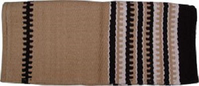 Saddle Blanket Zip Sand