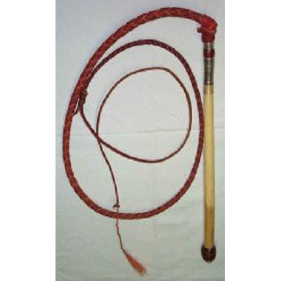 Whip - Knob Handle 4 Plait 5 Foot