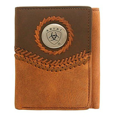 Ariat Wallet Tri Fold 3101A
