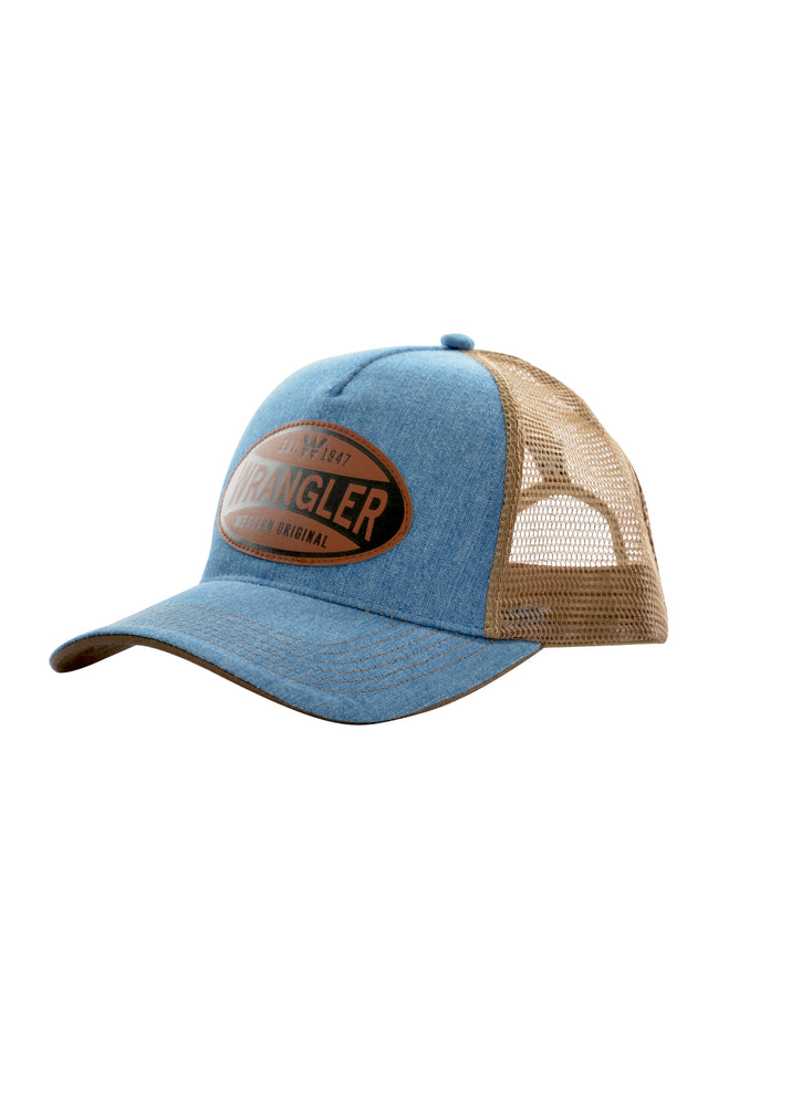 Cap Denim Trucker Blue