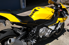Load image into Gallery viewer, Yamaha YZF YZF-R1 R6 FZ1 FZ8 FZ6 Real Carbon Fiber tank pad Protector Sticker FZ
