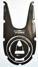 Load image into Gallery viewer, fit Ducati Monster 796 real carbon fiber tank dash panel cover pad protector