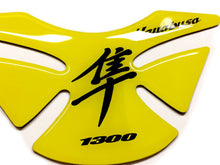 Load image into Gallery viewer, Suzuki Hayabusa lemon Yellow Glossy Tank Protector Pad Sticker trim guard decal
