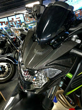 Load image into Gallery viewer, Real carbon fiber Fit Kawasaki Z650 HEAD light fairing Trim full KIT overlay