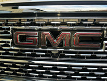 Load image into Gallery viewer, Dry Carbon Fiber Front Emblem overlay trim kit Fit GMC Sierra 1500 Denali At4