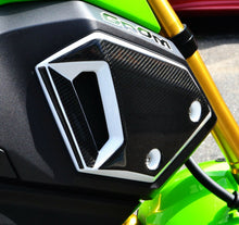 Load image into Gallery viewer, Fit Honda Grom 125 Real CARBON FIBER Side Air Duct Covers trim protector tank