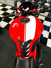 Load image into Gallery viewer, Fit Ducati Monster 1200 Real Carbon Fiber tank Pad Protector sticker trim kit