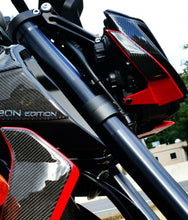 Load image into Gallery viewer, Fits Yamaha FZ09  MT09 2018 real carbon fiber HEAD light Trim full KIT