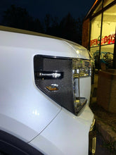 Load image into Gallery viewer, Dry Carbon Fiber Front light GARNISH trim kit Fit GMC Sierra 1500 Denali At4