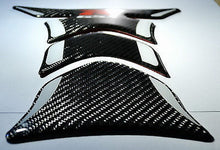 Load image into Gallery viewer, Suzuki GSX-R Real Ultra shiny Carbon Fiber tank pad Protector trim sticker guard