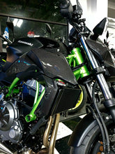 Load image into Gallery viewer, Real carbon fiber Fit Kawasaki Z650 radiator sides cover Trim KIT overlay