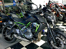 Load image into Gallery viewer, Real carbon fiber Fit Kawasaki Z650 engine clutch cover Trim KIT overlay