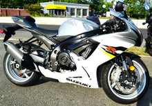 Load image into Gallery viewer, Real Carbon Fiber sides air inlets duct covers trim fit Suzuki GSX-R 600