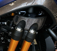 Load image into Gallery viewer, Fit Yamaha Niken GT real Dry wet carbon fiber front fork side cover pad trim kit