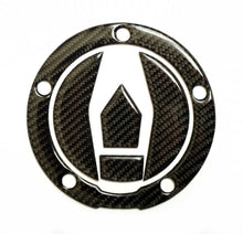Load image into Gallery viewer, Real Carbon fiber Gas Cap Tank Sticker fits Kawasaki Ninja H2R ZX10R H2 Z900RS