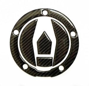 Real Carbon fiber Gas Cap Tank Sticker fits Kawasaki Ninja H2R ZX10R H2 Z900RS