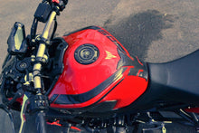 Load image into Gallery viewer, Real Carbon fiber Gas Cap Tank Sticker fits Yamaha YZF R1 R6 FZ1 FZ8 FZ6 FJR130