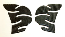 Load image into Gallery viewer, Fit Kawasaki Ninja ZX-14R ZX14 Carbon Fiber Tank Protector knee traction Pad