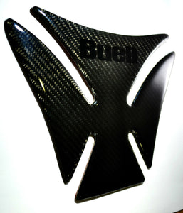 BUELL XB9S XB9S Blast Real Authentic Carbon Fiber Tank Protector Pad Sticker