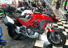 Load image into Gallery viewer, Fit Ducati Multistrada 1200 dry CARBON FIBER sides knee panel Fairing overlay