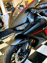 Load image into Gallery viewer, Fits Honda CBR1000RR 2017 real carbon fiber head light fairing stripes KIT trim