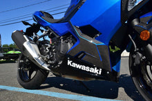 Load image into Gallery viewer, Fit Kawasaki Ninja 400 Real CARBON FIBER sides lower fairings cover trim kit
