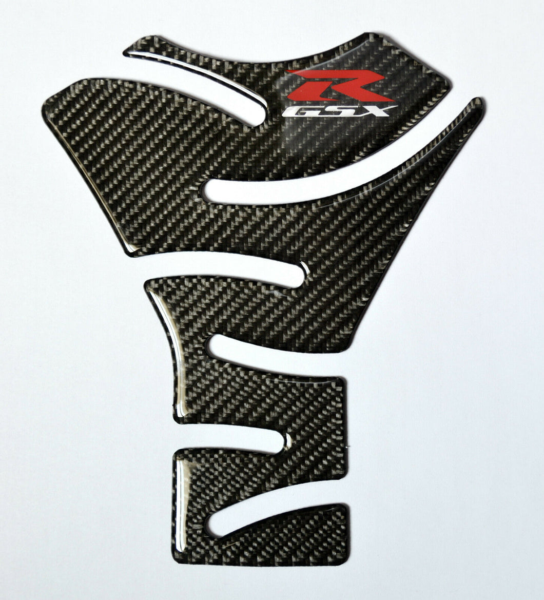 Real Carbon Fiber Tank Protector Pad Sticker trim fits for Suzuki GSX-R