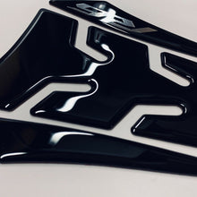 Load image into Gallery viewer, Fit Yamaha R6 YZF-R6 Piano Black tank Protector pad Decal Sticker trim