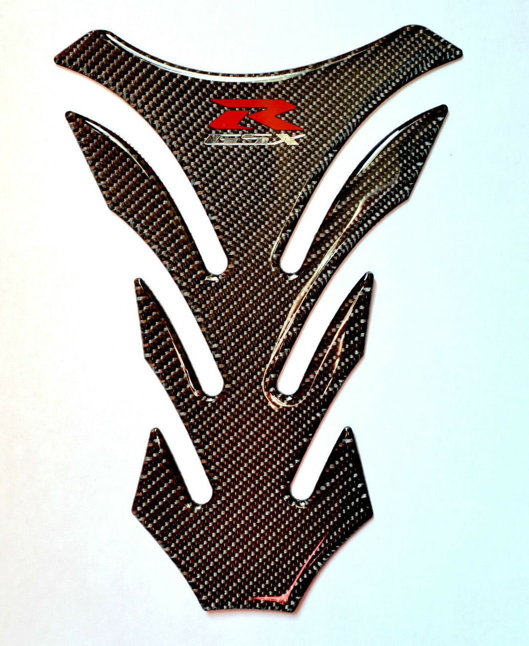 Suzuki GSX-R Authentic Carbon Fiber Tank Protector Pad Sticker trim made in USA
