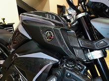 Load image into Gallery viewer, Fit Yamaha FZ10 MT-10 real carbon fiber sides fairings air inlets cover pad trim