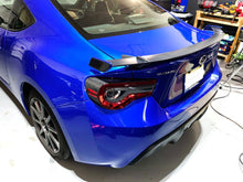 Load image into Gallery viewer, Real Carbon Fiber rear wing spoiler trim kit Fit Subaru BRZ Toyota 86