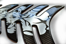 Load image into Gallery viewer, SKULL Real Carbon fiber tank pad Protector fits HONDA CBR 1000 600RR CB400