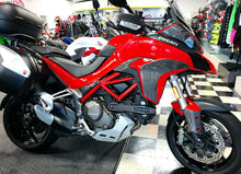Load image into Gallery viewer, Fit Ducati Multistrada 1200 CARBON FIBER Cam Belt Engine Cover Fairing overlay
