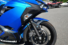 Load image into Gallery viewer, Fit Kawasaki Ninja 400 Real CARBON FIBER Front Fender Mudguard trim protector
