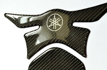 Load image into Gallery viewer, Yamaha YZF-R1 R6 FZ1 FZ8 FZ6 Real Carbon Fiber tank pad Protector Sticker trim