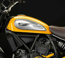 Load image into Gallery viewer, Ducati SCRAMBLER SCRATCHED Aluminum tank Knee grip pads Protector pad Sticker