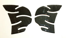 Load image into Gallery viewer, Kawasaki Ninja ZX-14R ZX14R Carbon Fiber Tank knee traction pad trim protectors