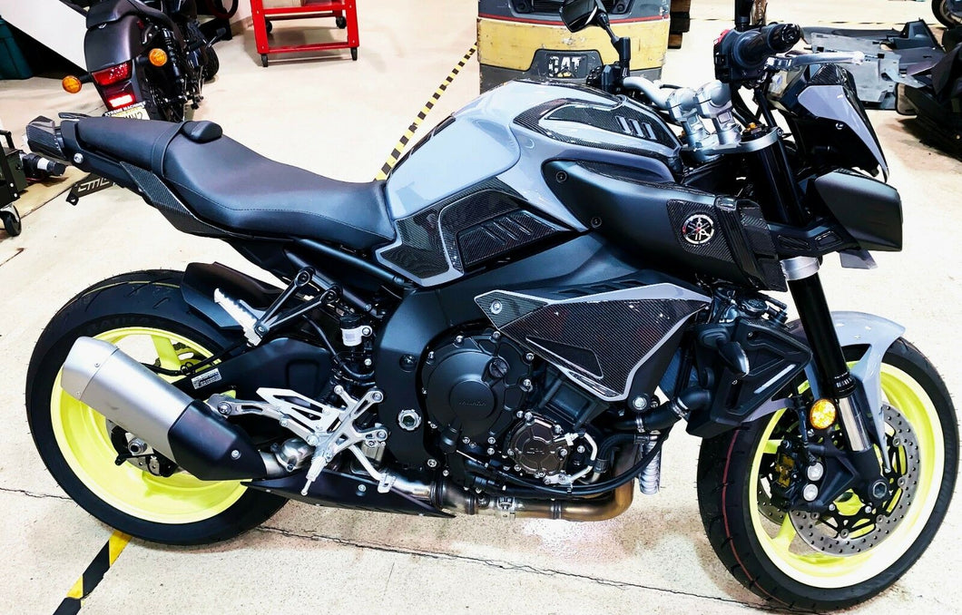 Fit Yamaha FZ10 MT10 carbon fiber real carbon fiber FULL COMPLETE FACE LIFT KIT