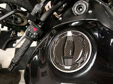 Load image into Gallery viewer, Real Carbon fiber Gas Cap Tank Sticker fits Kawasaki Z900 Z650 Z125 pro trim