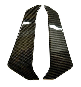 Fits Yamaha FZ09  MT09 real carbon fiber sides air wing fairing protector tank