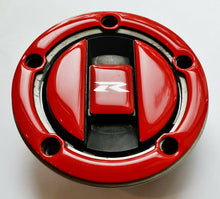 Load image into Gallery viewer, Red Glossy ABS Tank Cap Cover fits Suzuki Gixer GSX-R750 GSXR 750 GSX-R GSX R