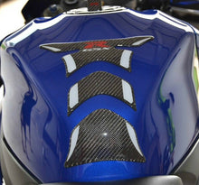 Load image into Gallery viewer, Real Ultra shiny Carbon Fiber tank pad Protector fits Suzuki GSX-R 750 GSXR 1000