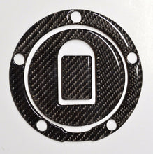 Load image into Gallery viewer, Real Carbon fiber Gas Cap Tank Sticker fits Kawasaki ZX6R ZX10R ZX12R ZZR NINJA