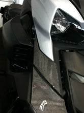 Load image into Gallery viewer, Fit Can-Am RYKER BRP 2019 Dry CARBON FIBER Full Front fairing Accent trim kit