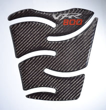 Load image into Gallery viewer, Honda VFR800  authentic Carbon Fiber Tank Protector Pad Sticker trim guard