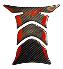 Load image into Gallery viewer, Yamaha M-1 M1 Real Carbon Fiber tank pad Protector Sticker trim