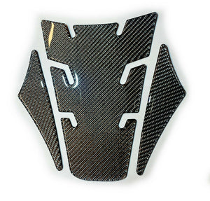 Real Dry carbon fiber Fit Honda CB650R tank pad protector trim Sticker decal