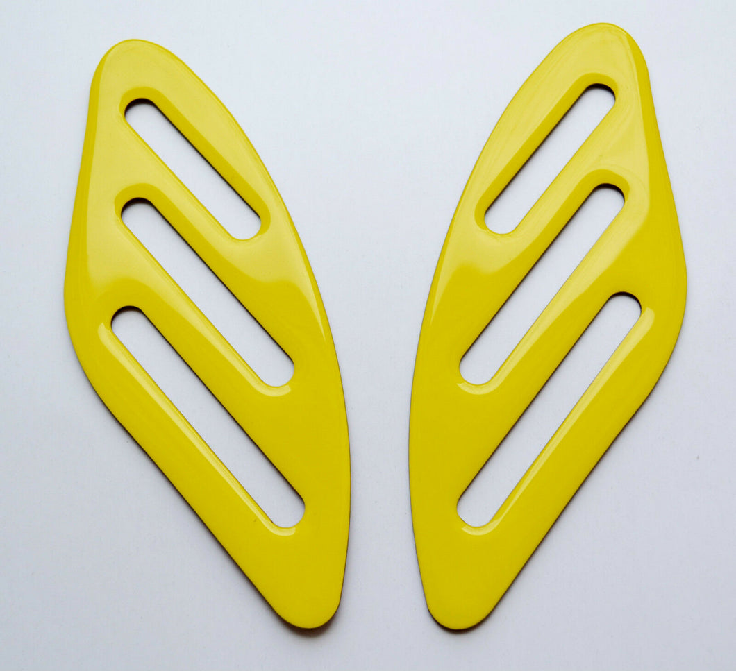 Fit Ducati SCRAMBLER YELLOW tank Knee grip pads Protector pad Decal Sticker trim