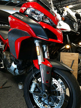 Load image into Gallery viewer, Fit Ducati Multistrada 1200 S CARBON FIBER Front Fender Mudguard trim overlay
